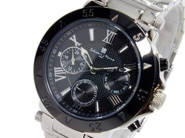 サルバトーレ マーラ クロノグラフ 腕時計 SM14118-SSBK
