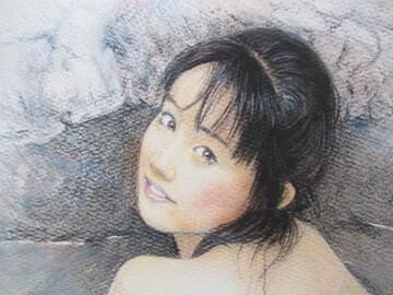 「熱海の湯」の限定版画、エディション、直筆サインあり