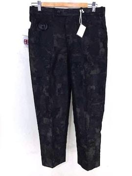 NEZU YOHINTEN(ネズヨウヒンテン)総柄センタープレススラックスパンツパンツ