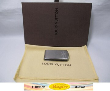 LOUIS VUITTON ルイヴィトン マネークリップ 札挟み 中古