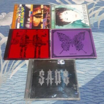 黒夢. SADS/ CD アルバム5枚セット ビジュアル系