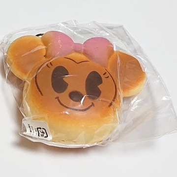 ミニー パン ストラップ スクイーズ ミニーマウス ディズニー