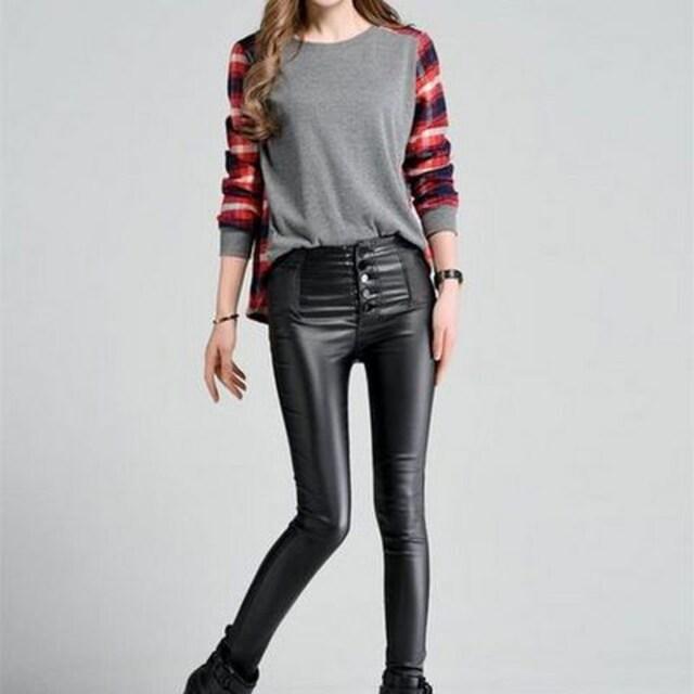 劇的伸縮性★スーパーストレッチパンツ(XXLサイズ) < 女性ファッションの