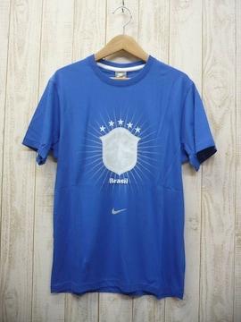 即決☆ナイキ 50%OFF ブラジル代表Tシャツ AWAY/L 新品