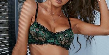 セクシーコスプレ セクシーランジェリー シースルー 刺繍