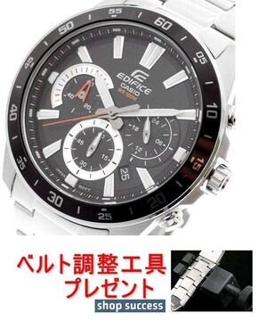 新品■カシオ エディフィス腕時計EFV-570D-1AV★ベルト調整具付