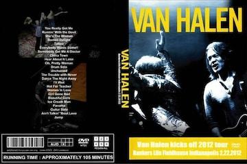 ≪送料無料≫VAN HALEN INDIANAPOLIS 2.22.2012 ヴァンヘイレン