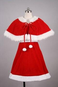 オリジナル★サンタドレス 赤ver  コスプレ