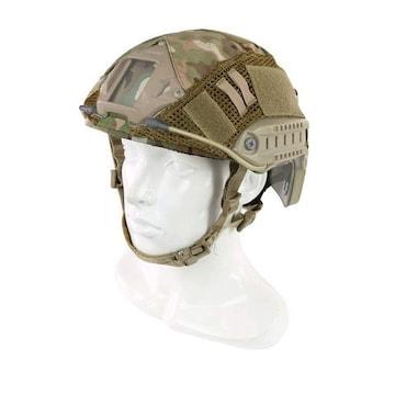 ヘルメット迷彩カバー マルチカム迷彩