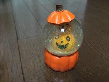 ハロウィン スノードーム かぼちゃ ジャックオーランタン