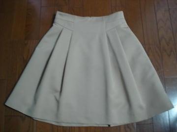 クイーンズコート QUEENS COURT デザインフレアースカート
