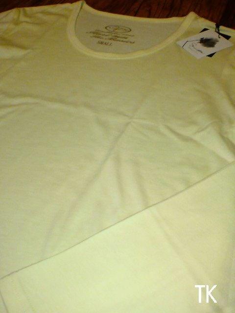 □TK/タケオキクチ スリム ロングTシャツ Sサイズ/メンズ・レモン☆新品 < ブランドの