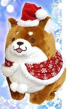 忠犬もちしば クリスマスBIGぬいぐるみ 2015 「おかか」