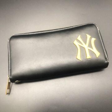 即決 ニューヨークヤンキース 長財布