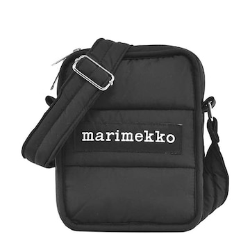 ★マリメッコ LEIMEA ショルダーバック(BK)『049257』★新品本物★