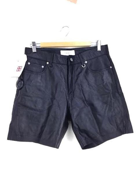 USED古着(ユーズドフルギ)TONYWACK ラムレザーショートパンツパンツ  < 男性ファッションの