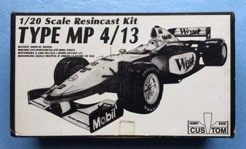 1/20 マクラーレン MP4/13 F1 レジン ガレージ キット