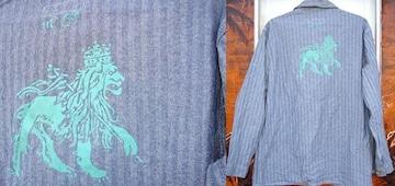 Jah Lion ライオン ヘリンボーン カバーオール レア レゲエ