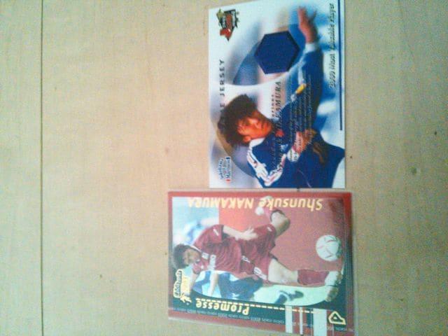 中村俊輔 カード2枚セット  < トレーディングカードの