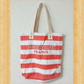 le coq sportif ルコックスポルティフ キャンバストートバッグ