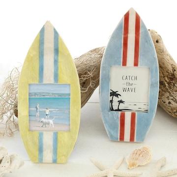 サーフボード型 インテリア雑貨 写真立て フィリピン雑貨