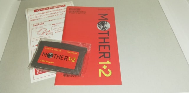 GBA[MOTHER1+2]ソフト/箱/取説セット < ゲーム本体/ソフトの