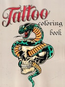 刺青 参考本 USA製 デザイン本 【 Tattoo COLORING BOOK 】 323