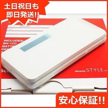 ◆安心保証◆新品未使用◆SH-11C ホワイト◆白ロム