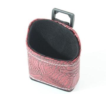 携帯ポケットケース/レッドiphoneなど小サイズ