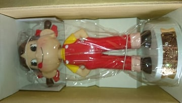 ペコちゃん60周年記念首ふり人形 懸賞品