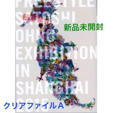 新品未開封☆嵐 大野智 個展 FREESTYLE★クリアファイル