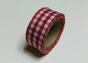 チェック柄 リボン★
