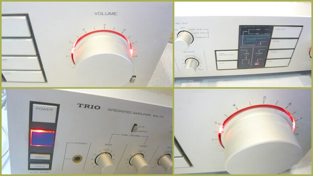 TRIO KA-7X トリオプリメインアンプ Σドライブ 動作品  < 家電/AVの