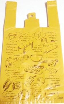 キュートレジバッグ★ブラウンフレンチ30枚☆大きめレジ袋