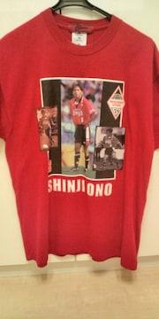 小野伸二 直筆サイン入り Tシャツ