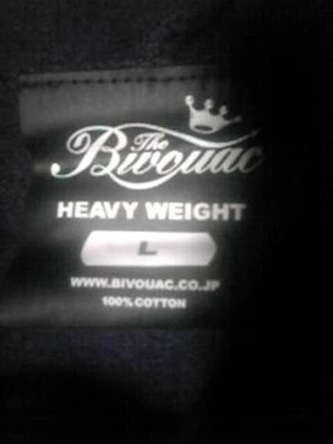 B-BOY.スト系 美品 BIVOUAC パーカー L パープル < 男性ファッションの