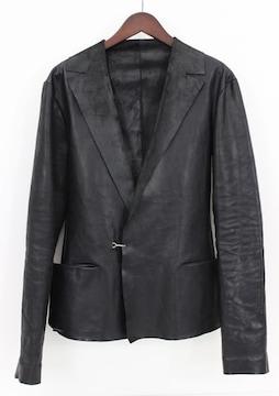 MA+ レザーテーラードジャケット