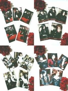 レア★Dディー★限定ポストカード30枚★ASAGI-Ruiza-涙沙-英蔵/HIDE-ZOU