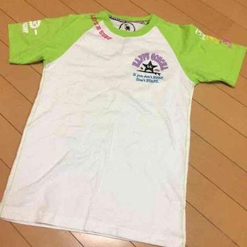 ガッチャGOTCHA◆半袖Tシャツ◆Mホワイトグリーン◆サーフ系