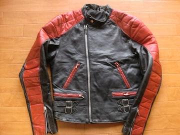 ヴィンテージ 70年代 ドイツ レザー ライダースジャケット