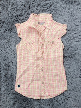 女の子♪ノースリーブシャツ140