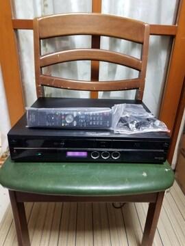 一台四役美品!シャープVHS/HDD/ブルーレイレコーダーBD-HDV22