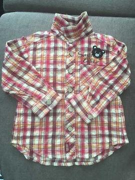 CHICKA CHICKA BOOM BOOM☆シャツ☆長袖☆90cm