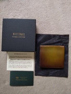 ワイルドスワンズ スマフート モーリス マネークリップ カードケース レザー 革 財布 チョコ 茶