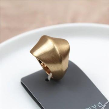新品 PARFOIS アンティーク調金色のリング指輪15号