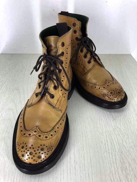 Tricker\s(トリッカーズ)MALTON バーニッシュ×コマンドカントリーブーツカントリーブーツ  < 男性ファッションの