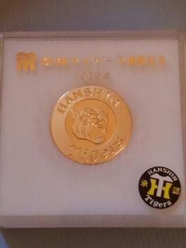 阪神タイガース1985優勝記念メダル ケース付き美品