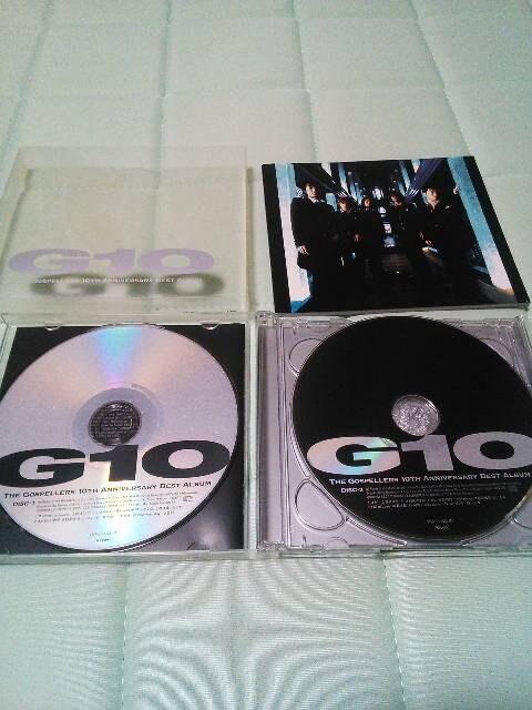 ゴスペラーズ G10 ベストアルバム2枚組み < タレントグッズの
