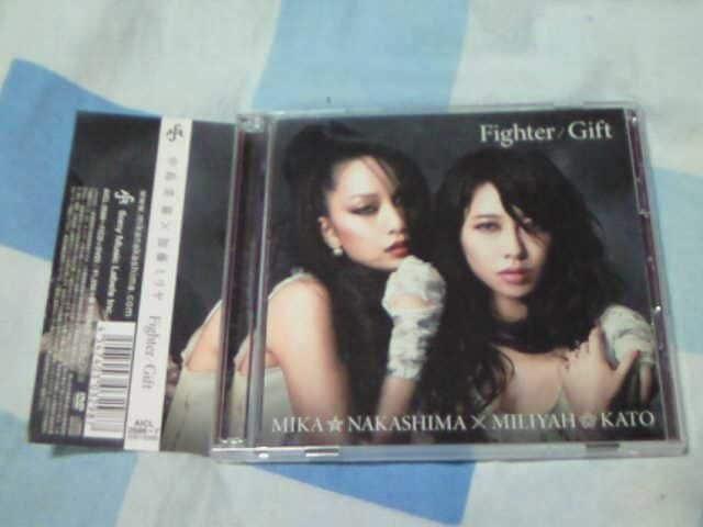CD+DVD 中島美嘉×加藤ミリヤ Fighter/Gift 初回限定盤  < タレントグッズの