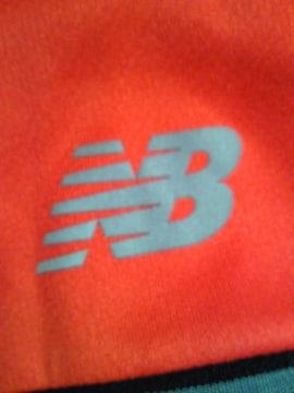 new balance ニューバランス ボーダー Tシャツ Lサイズ ブラック レッド サラサラ素材